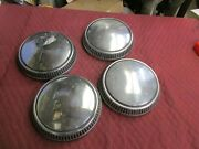 1960and039s-1970and039s Ford/mercury Dog Dish Hubcaps/hot Street Rat Rod/muscle Car
