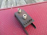 1920and039s-1930and039s Vintage Car Wood Ignition Box/brass Era/steam Punk Parts