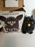 Furby 2012 Hasbro 'a Mind Of Its Own' Rare Black Gray Interactive Electronic Toy
