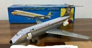 Nomura Toy/nikko Toy 1960s Tinplate Airplane L42 X W33cm Battery Operated Rare