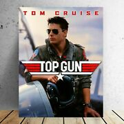 Top Gun Poster, Tom Cruise Poster, Movie Poster, Vintage Home Decor Poster