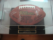 Autographed Official Nfl Football With 16 Signatures 7 Hall Of Famers Jsa Loa