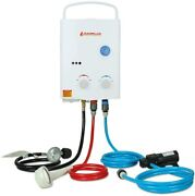 1.32 Gpm Outdoor Portable Propane Gas Tankless Water Heater With 1.2