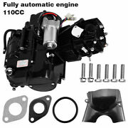 110cc 4-stroke Full Auto Engine Motor W/electric Start For Atvs Go Karts Fast Us