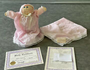 Vintage Hand Signed By Xavier Robert Andldquolittle Peopleandrdquobaby Cabbage Patch Doll 1984