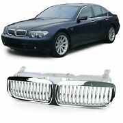 Chrome Finish Front Grill For Bmw E65 And E66 7 Series 2001 - 2005 Model