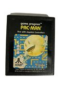 Atari 2600 Pac-man Cx2646 Cartridge Video Game Only Used Collectible Pacman