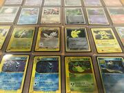 Large Pokemon Card Collection- Late 90s To 2010s Holos E-reader Exs- 1500+ Cards