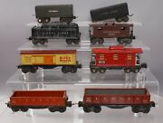 Lionel Vintage O Prewar Freight Cars And Tenders 2677 2652 2679 2657 2672 [8]