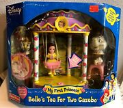 Disney My First Princess Belleand039s Tea For Two Gazebo Brand New Factory Sealed
