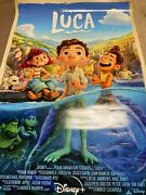 New Disney Plus Pixar Luca 27x40 Poster - Single Sided Authentic 2a