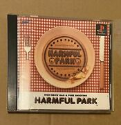 Used Harmful Park Ps1 Playstation Pure Shooting Game Soft High Brow Gag