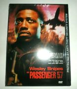 Passenger 57 Video Dvd Wesley Snipes New In Package 1998 Rated R
