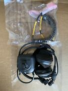Vic-3 Headset And Bailout Cable Hmmwv Racal Acoustics Not Bose