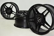 19 Mercedes Benz E63 E550 Cls550 Amg Factory Oem Wheels Rims Staggered Black