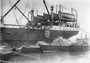 Ombo Loading Of The Tea Chests In The Harbour 1910 Old Photo