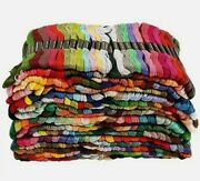 100 Colors Egyptian Cotton Floss Sewing Skeins Cross Stitch Thread Embroidery