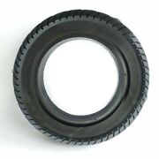 Rubber Solid Tire Black Rear Air Free Attachment Spare Parts Motor Tyre