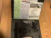 Maruzen Walther Ppk / S Movie Prop Set Stainless Model Gas Blowback