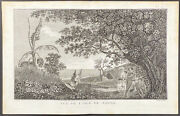 Cook Voyages - View, Island Of Tanna. 2-47, 1785 South Pole Original Engraving
