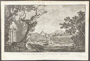 Cook Voyages - View, New Caledonia. 2-51, 1785 South Pole Original Engraving