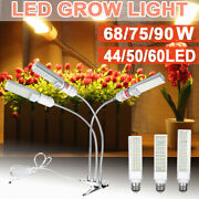 2400lm 90w 3 Head Plant Led Grow Light Growing Lamp + Clip For Indoor Andradic