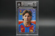 Bgs 8.5 Lionel Messi Rookie 2004 05 Panini Barca Campeon Catalan Soccer Rc 35