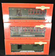 Bachmann Big Haulers Et And Wnc Observation, Baggage, Combine