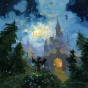 Adventure To The Castle Gates By James Coleman With Mickey Mouse And Minnie Mo