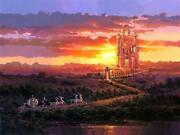 Castle At Sunset By Rodel Gonzalez Inspired By Cinderella