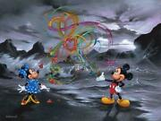Colors Of Love Mickey Mouse And Minnie Mouse By Jim Warren