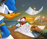 Off The Page Donald Duck And Daisy Duck By Jim Warren