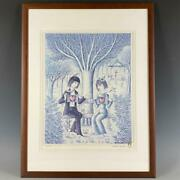 Raymond Peynet Letand039s Show Our Hearts To Each Other 422/500 Framed Good Condition