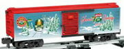 American Flyer 6-48384 S Scale 2010 Holiday Boxcar