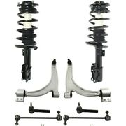 Control Arm Ball Joint Suspension Kit Set Of 8 Front Left-and-right For Chevy