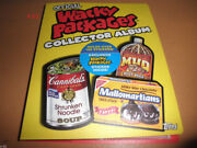 Wacky Packages Album + Exclusive B1 Sticker Card Official Topps Toy