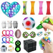 Fidget Sensory Toys Set 26 Pack For Stress Relief Anti-anxiety Stocking Hot Us