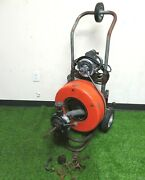 General Pipe Cleaners Speedrooter 90 Electric Drain Snake Cleaner W/ 3/4 Cable