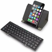 Protable Folding Ultra-slim Bluetooth Keyboard Support Ios/android/windows