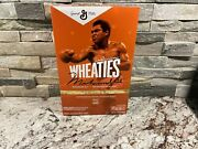 Wheaties Century Collection Gold Box 1 Muhammad Ali - Fast Ship In Hand