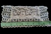 Antique Lace Remnant Edging Trim Dolls Vintage Crafts And Projects