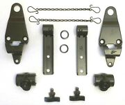 Ford Gpw ✅ A2754-k-gpw-l Top Bow Complete Bracket Hardware Set F Marked G503