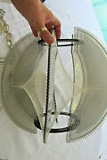 Collectible Vintage Hanging Light Fixture Fish String Mod Modern 1970and039s Lighting
