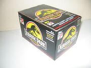 1992 Topps -rare- Collectors Edition Deluxe Gold Series Jurassic Park Sealed Box
