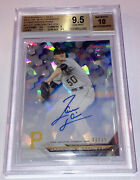 2016 Bowman's Best Jameson Taillon Auto /25 Bgs 9.5 Atomic Refractor Yankees