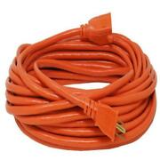 100 Ft 16 Gauge Heavy Duty Orange General Purpose Extension Cord Home Office Use