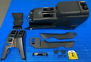 2016 Ford F150 Xlt Sport Center Floor Console W/ Armrest Black + All Trim Needed