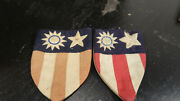Wwii Us Army Cbi China Burma India Theater Made Patches With Snap Backs