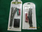 N Scale Trains Right Hand Switch With Power Track