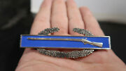 R Wwii Us Army Cib Combat Infantry Badge 3 Inch Sterling